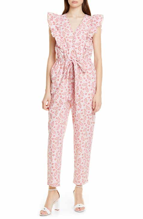 84c8fbec298a La Vie Rebecca Taylor Wave Paisley Cotton Jumpsuit