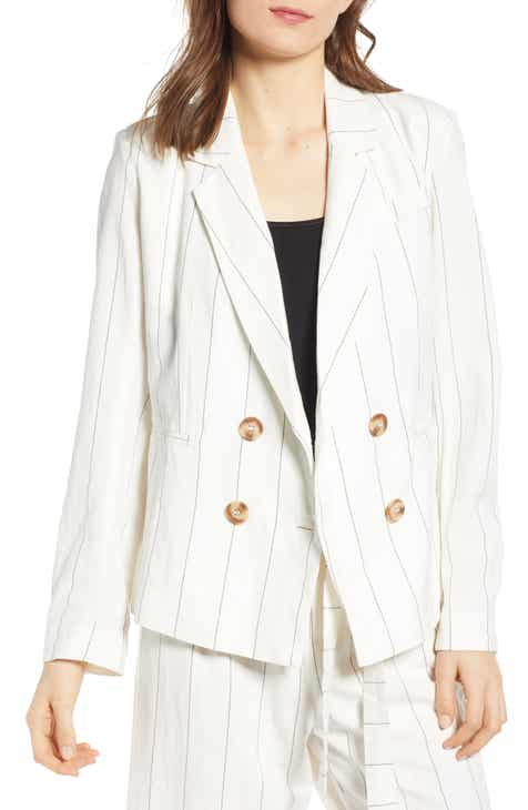 Vince Camuto Wildflower Sequin Blazer by VINCE CAMUTO