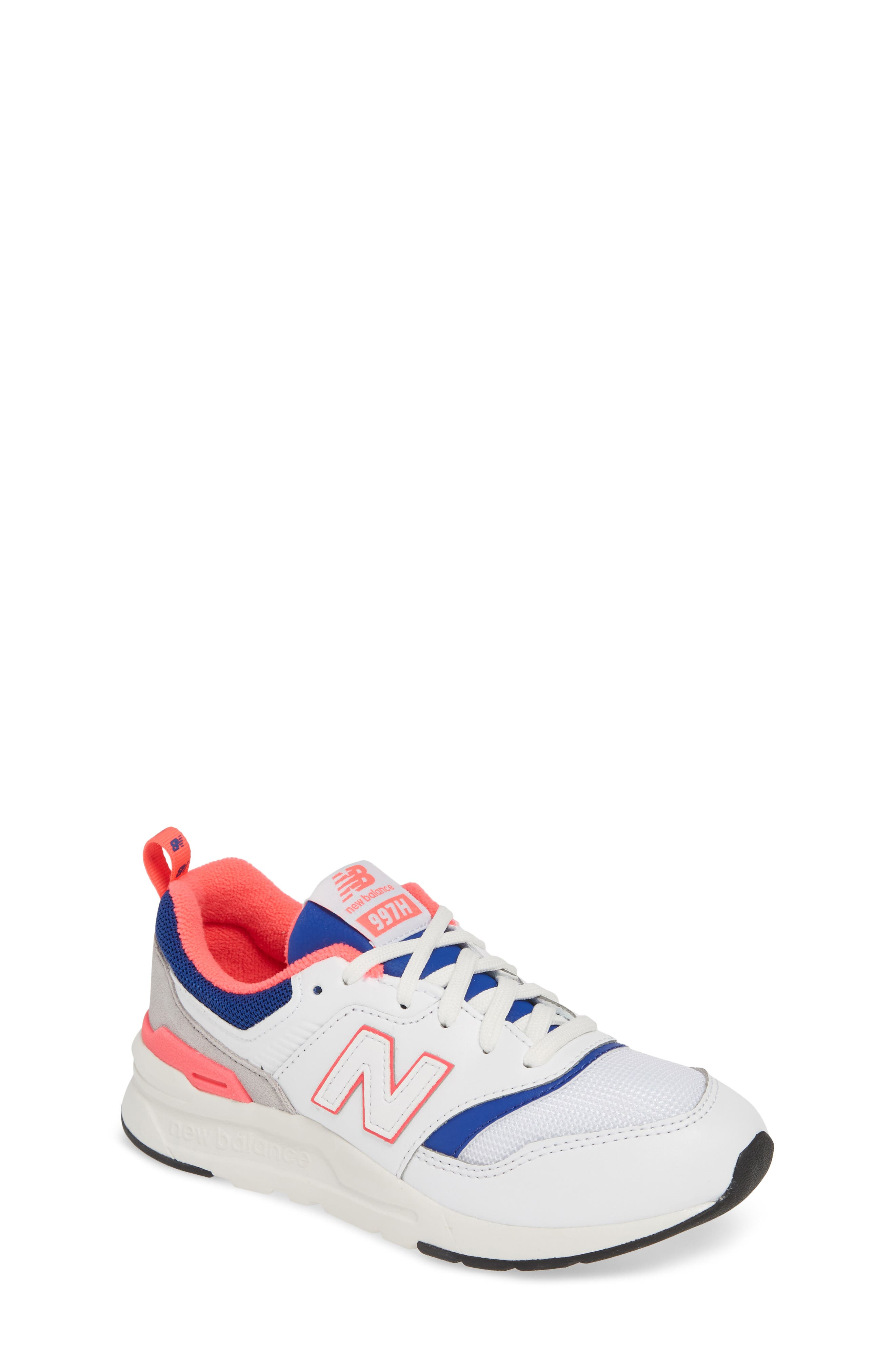 8f7d74d6af7dad White New Balance Running Shoes
