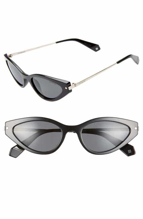 4b7a63de299 Polaroid 53mm Polarized Cat Eye Sunglasses