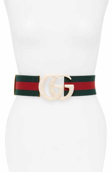 5432fbbf8 Gucci GG Marmont House Web Belt
