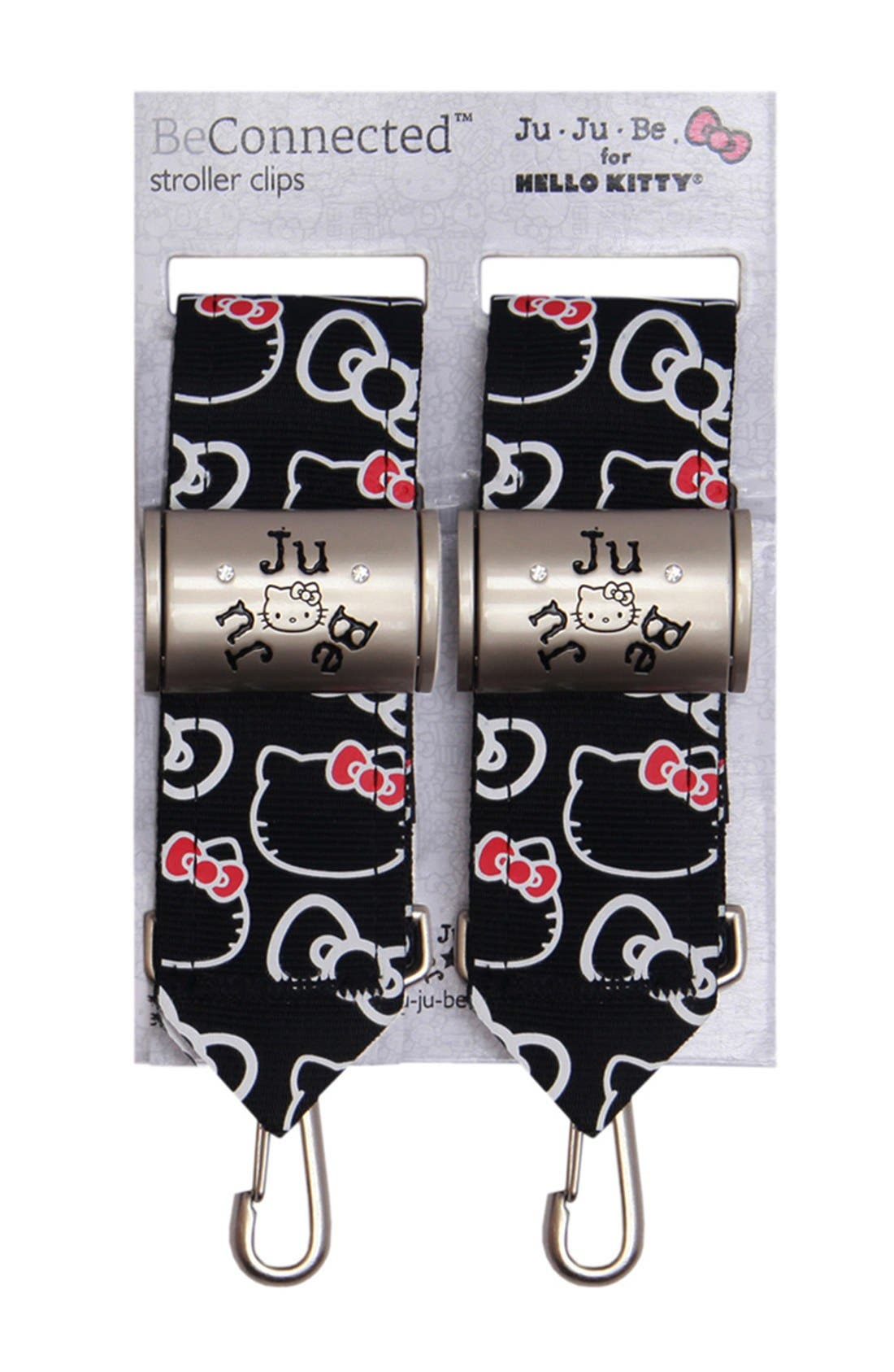 Alternate Image 1 Selected - Ju-Ju-Be 'Hello Kitty® - Be Connected' Diaper Bag Stroller Clips