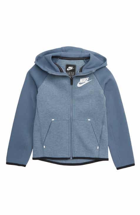 fe8c510b5135 Nike Tech Fleece Full Zip Hoodie (Little Boys)