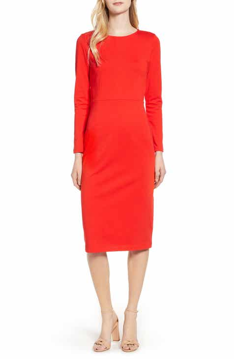 J.Crew Knit Sheath Dress (Regular & Petite) by J.CREW