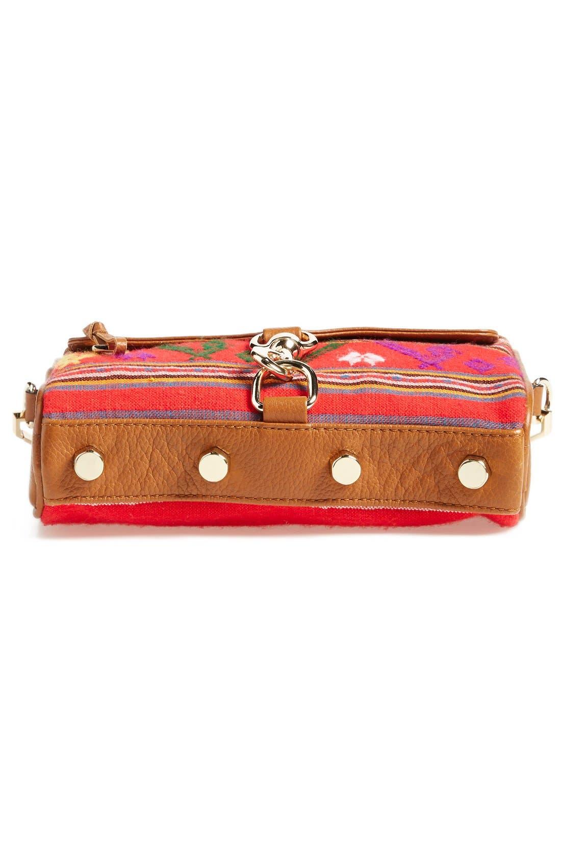 Piece & Co. and Rebecca Minkoff 'Mini MAC' Convertible Crossbody Bag,                             Alternate thumbnail 6, color,                             Orange Multi