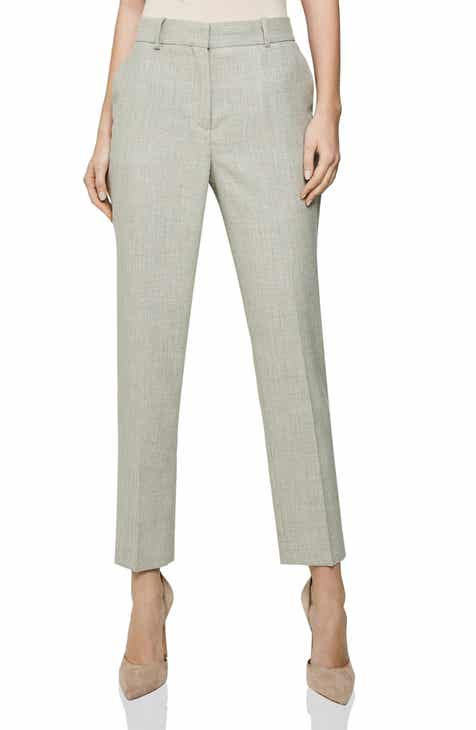 Anne Klein Flare Leg Stretch Twill Pants by ANNE KLEIN