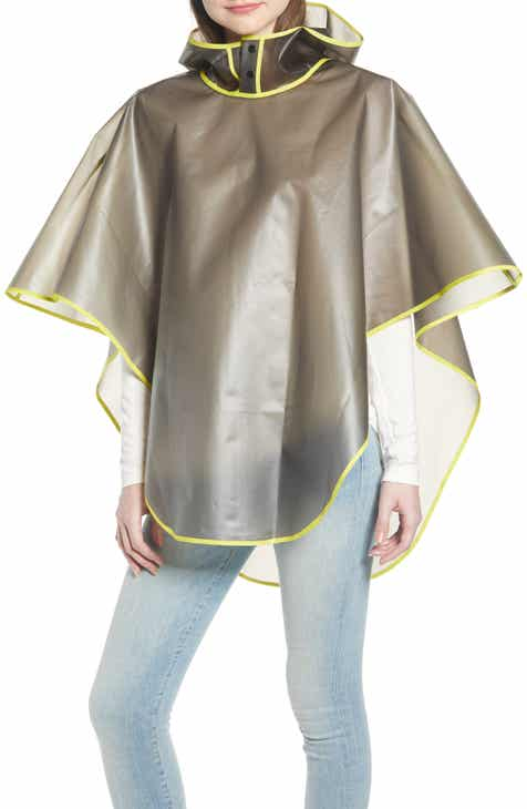 4c9de6a8801 La Double 7 Hooded Poncho.  25.00. Product Image