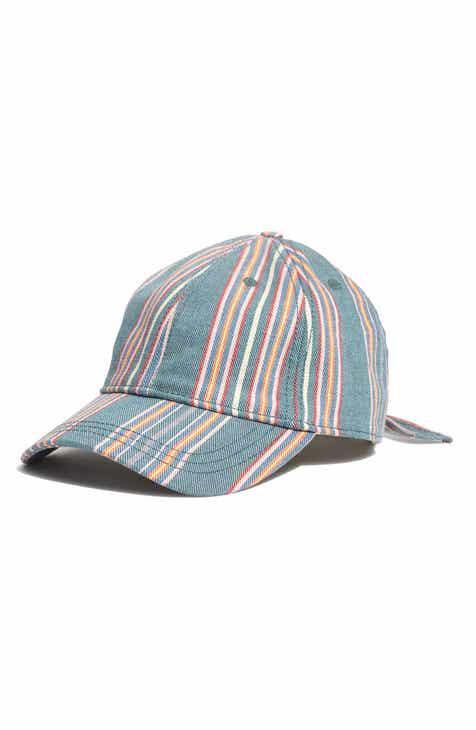 edc877f0b320 Madewell Stripe Baseball Cap