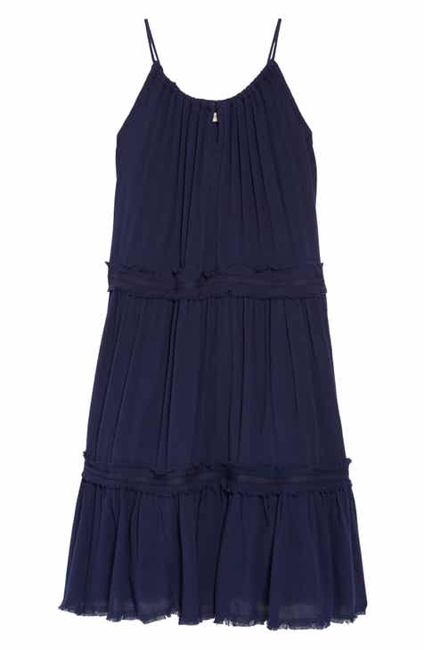 482226454 Tucker + Tate Gauzy Tiered Sundress (Big Girls)