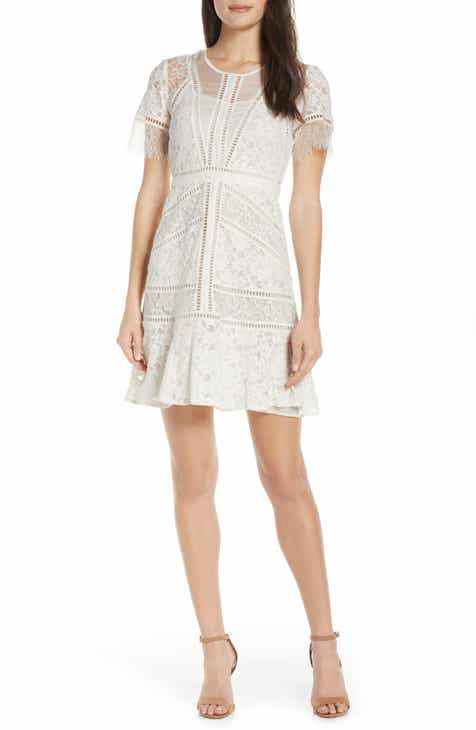 French Connection Chante Lace Minidress by FRENCH CONNECTION