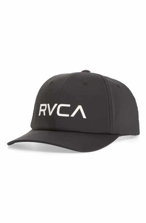 0ac3c9a3460 RVCA VA Tech Snapback Baseball Cap