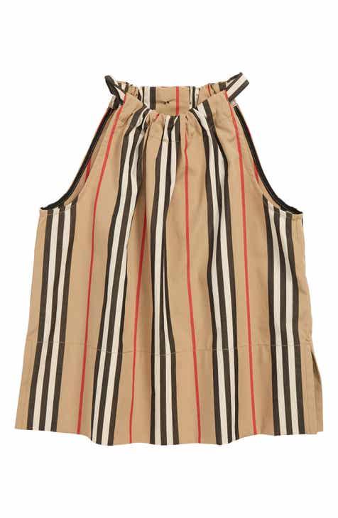 d9b951a1c9bfd Burberry Harper Stripe Top (Toddler Girls