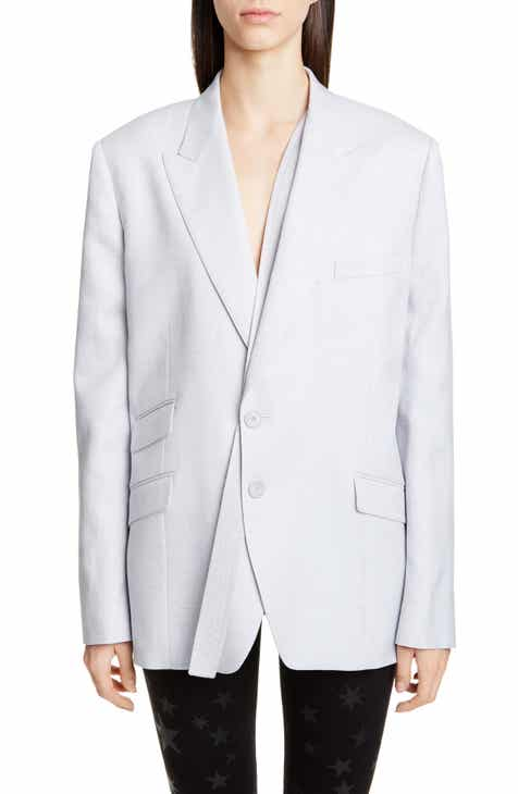 Stella McCartney Strap Detail Oversize Blazer by STELLA MCCARTNEY