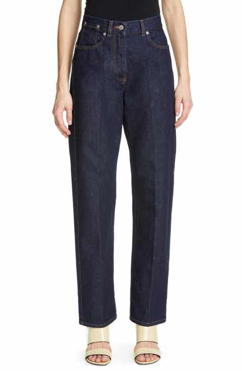 Madewell Seamed Edition Tapered Jeans (Fernhill Wash) by MADEWELL