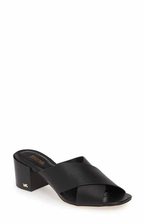 b4243360c67 MICHAEL Michael Kors Abbot Slide Sandal (Women)