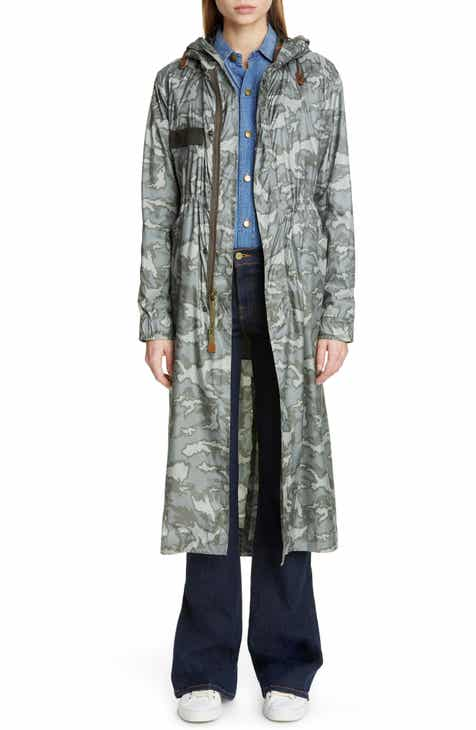 Mr & Mrs Italy Camouflage Raincoat by MR AND MRS ITALY