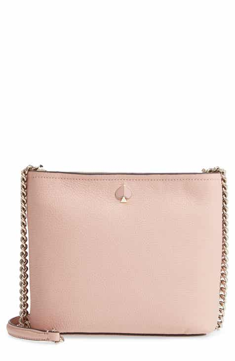 9843ab968395 kate spade new york small polly leather crossbody bag