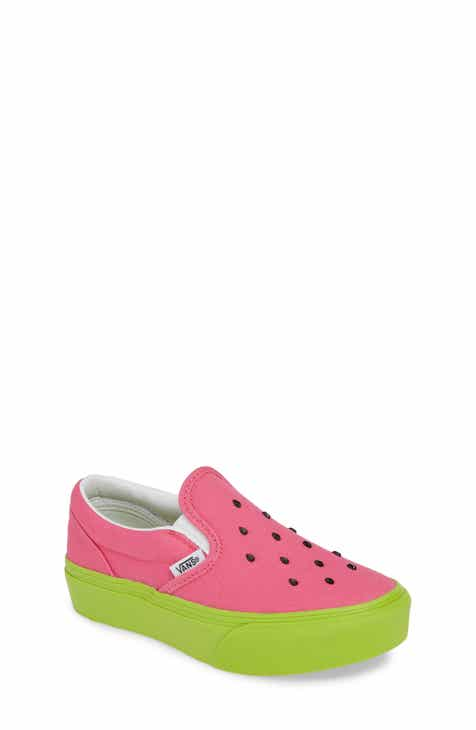 34b14e92b2 Vans Classic Platform Slip-On Sneaker (Little Kid   Big Kid)