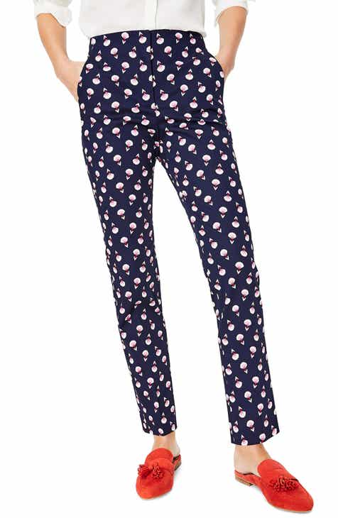 Boden Ledbury Print Pants (Regular & Petite) by BODEN