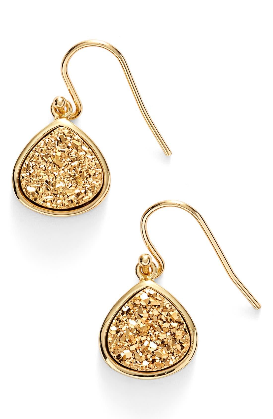Alternate Image 1 Selected - Sonya Renee Drusy Teardrop Earrings