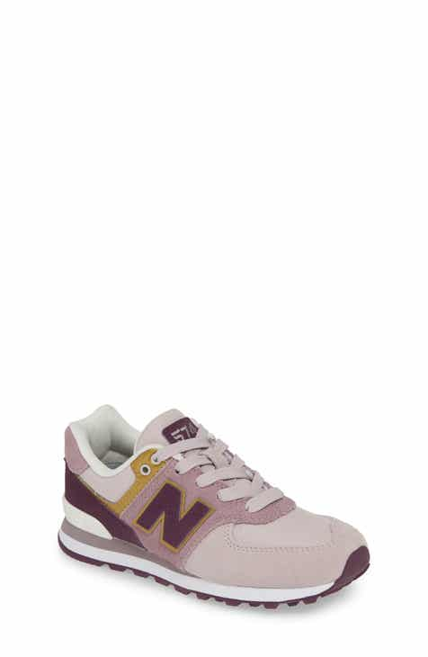New Balance 574 Serpent Luxe Sneaker (Baby bfef09035