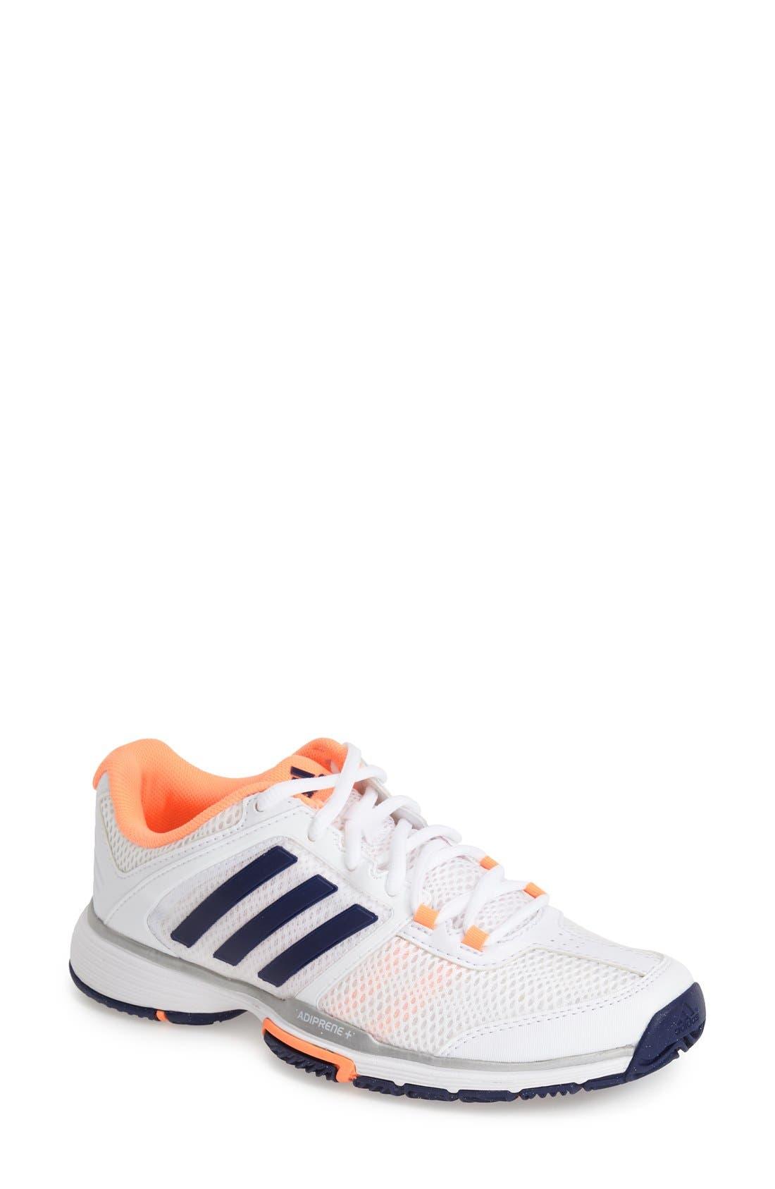 Alternate Image 1 Selected - adidas 'adiPower Barricade Team 4' Tennis Shoe (Women)