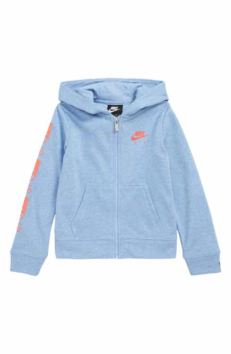 763e5c73d213 Nike Air Full Zip Hoodie (Toddler Girls   Little Girls)
