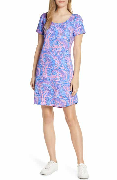 Lilly Pulitzer® Tammy UPF 50+ T-Shirt Dress