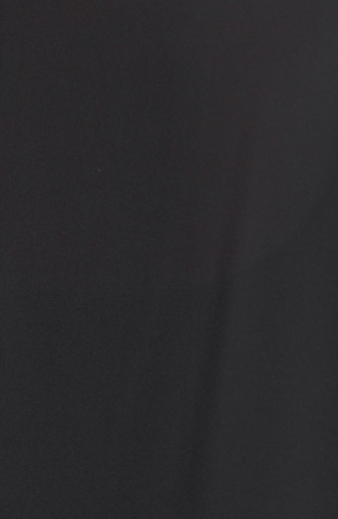 Alternate Image 3  - Sejour Short Sleeve Asymmetrical Tunic (Plus Size)
