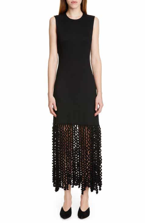 defaa90da3265 Rosetta Getty Spiral Fringe Maxi Dress