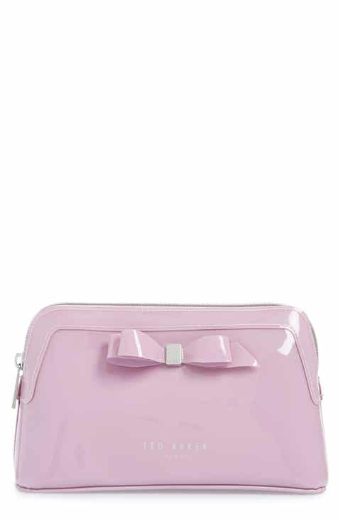 Ted Baker London Cahira Bow Cosmetics Case 2588ac83ff2a2
