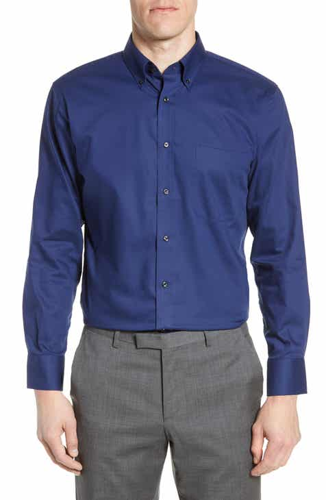 c835cd78 Nordstrom Men's Shop Trim Fit Non-Iron Dress Shirt