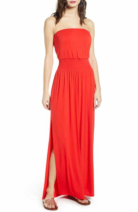 45cb9895185 Strapless Maxi Dress (Regular   Plus Size)