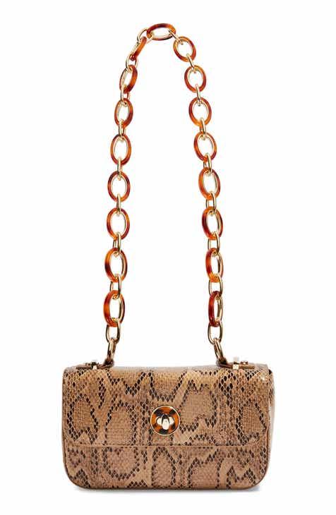 c4853449dc Topshop Cyprus Snakeprint Shoulder Bag
