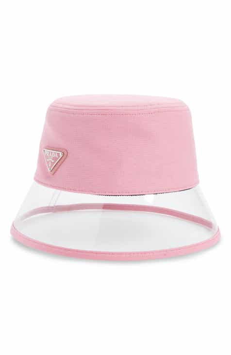 76d62241cc231 Prada Clear Brim Bucket Hat