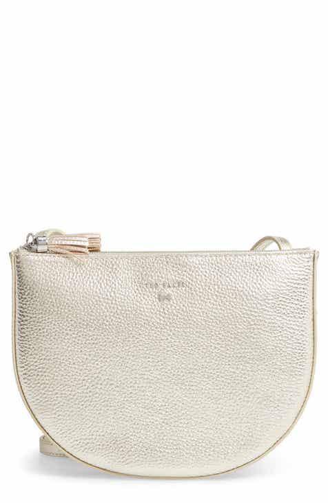 546e8e019928 Ted Baker London Semi Circle Leather Crossbody Bag