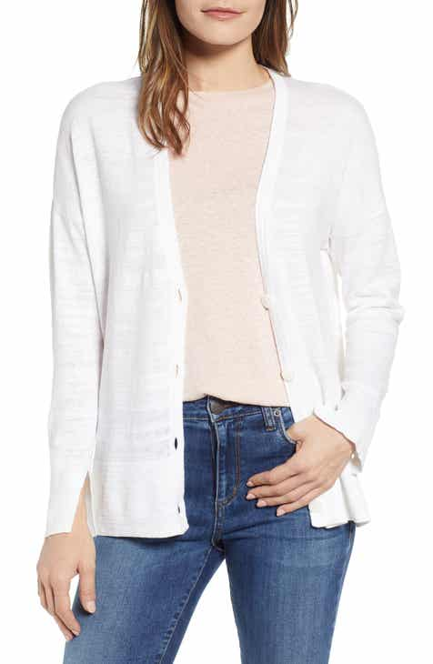 Lou & Grey V-Neck Cardigan by LOU AND GREY