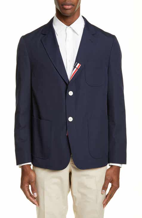 c30638327e563 Thom Browne Unconstructed Wool Blend Sport Coat