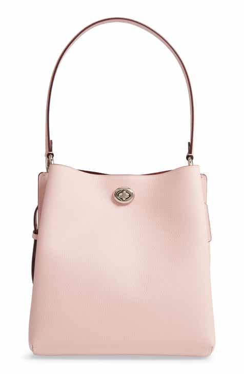 c086152308 COACH Charlie Leather Bucket Bag