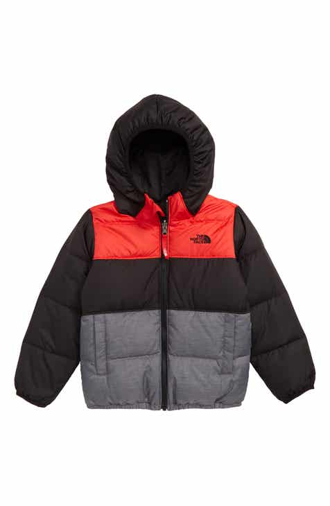 3215ce6f The North Face 'Moondoggy' Water Repellent Reversible Down Jacket (Toddler  Boys & Little Boys)