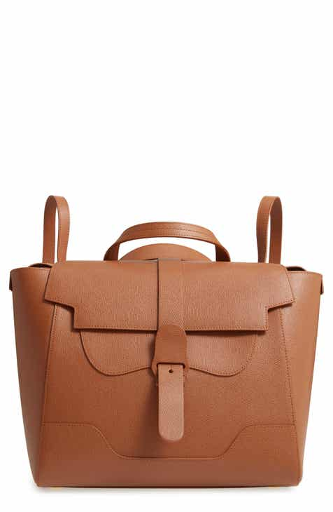 Senreve Maestra Pebbled Leather Convertible Satchel ccc61378dadf8