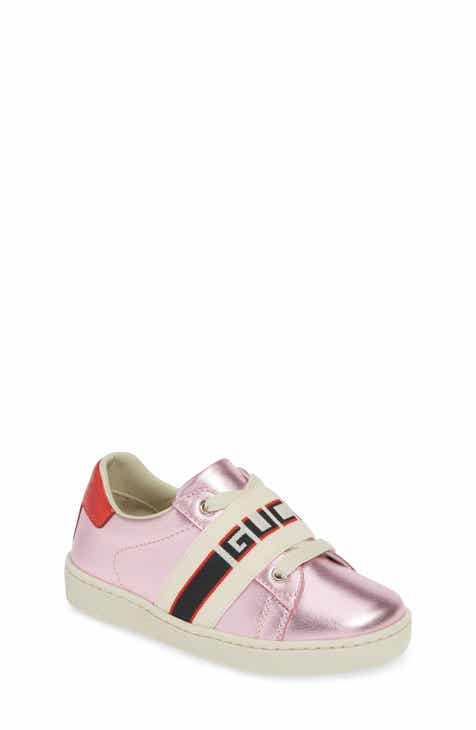 ea56b5aef14 Gucci New Ace Stripe Sneaker (Toddler   Little Kid)