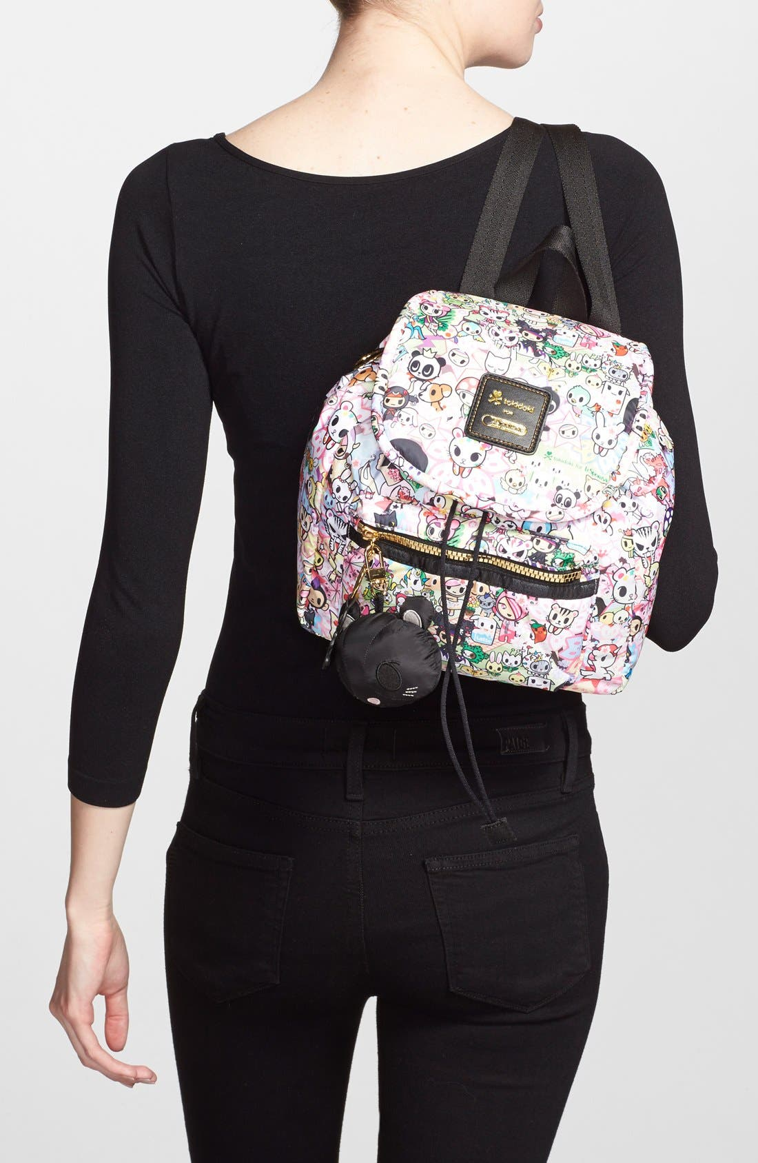 Alternate Image 3  - tokidoki x LeSportsac 'Piccolina' Nylon Backpack