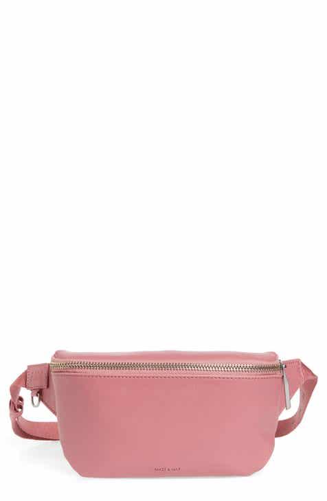ef9a08eaeffd Matt   Nat Vie Faux Leather Belt Bag