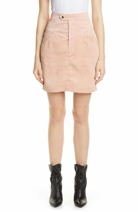 Isabel Marant Marsh High Waist Corduroy Skirt by ISABEL MARANT