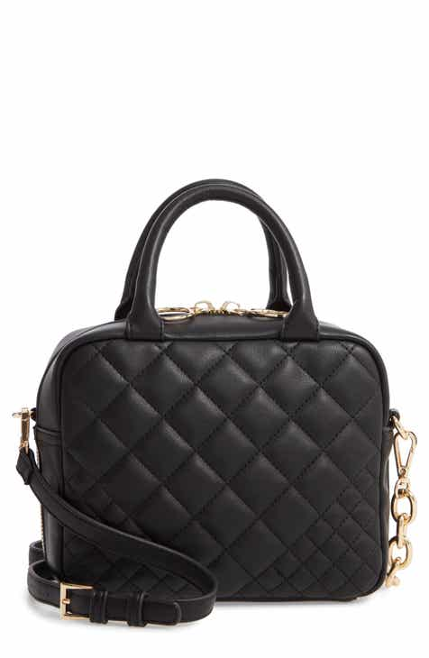 e1a29bfe7054 Like Dreams Quilted Faux Leather Satchel