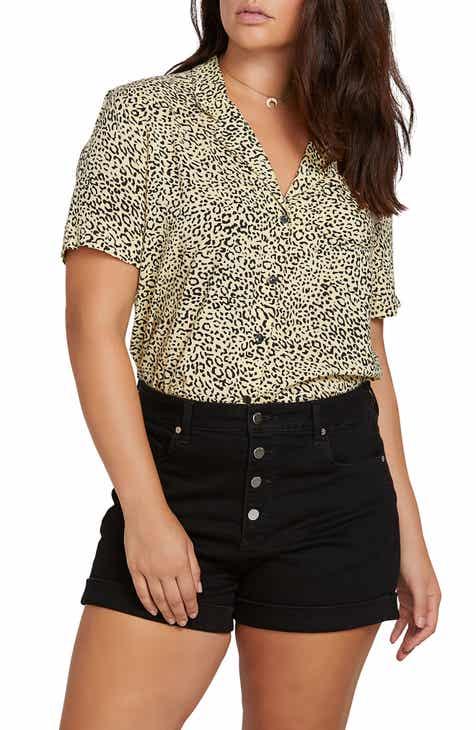 b55042d56e0ab7 Volcom Gen Wow Shirt (Plus Size)