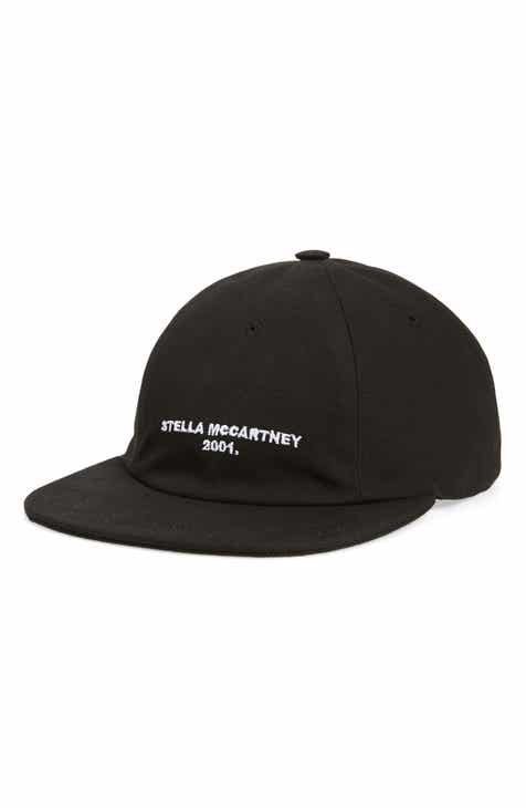 bea26996c75 Stella McCartney Eco Logo Cotton Baseball Cap