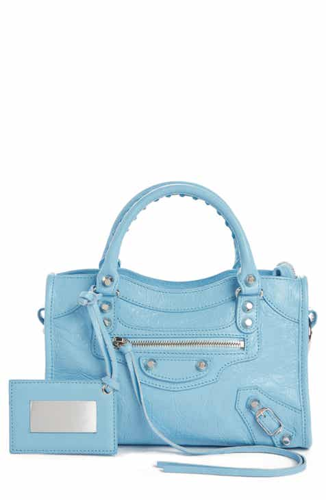 b624b01f4b Balenciaga Mini Arena City Leather Satchel
