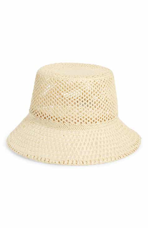 a132f1fbe1551 Nordstrom Open Weave Straw Bucket Hat